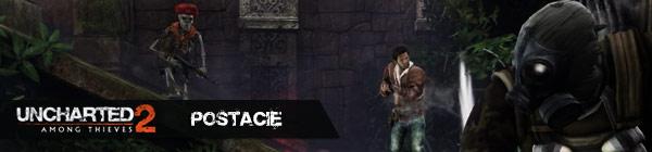 uncharted 2 postacie
