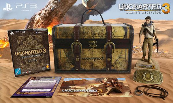 uncharted 3 edycja limitowana limited edition