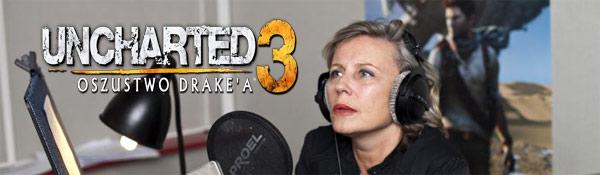 uncharted 3 krystyna janda polski dubbing